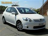 2011 Toyota Corolla Ascent ZRE152R MY11 Hatchback