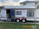 19 Crusader Monarch Pop Top Caravan. Any reasonable offer will be considered!