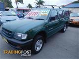 2000  HOLDEN RODEO LX TFR9 CREW CAB P/UP
