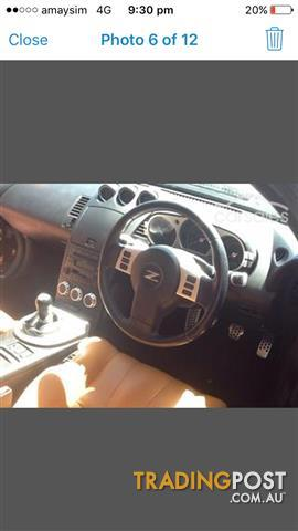 2006 nissan 350z track z33 my06 upgrade 2d coupe for sale. Black Bedroom Furniture Sets. Home Design Ideas