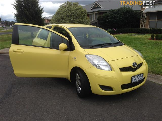 2009 TOYOTA YARIS YRS NCP91R 08 UPGRADE 3D HATCHBACK
