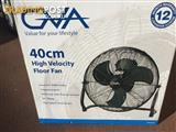 GVA High Velocity Floor Fan. Brand new condition. 2 available