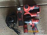 Drill/jigsaw/multitool/resiprecating saw 12v battery and charger