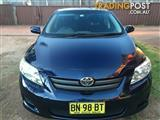 2008 TOYOTA COROLLA ASCENT ZRE152R 4D SEDAN
