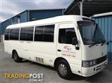 TOYOTA COASTER MINIBUS WITH WHEELCHAIR LIFT