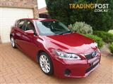 2011 LEXUS CT 200h. HYBRID LUXURY ZWA10R 5D HATCHBACK