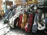 GOLF SETS OR SEPARATE CLUBS BAGS BUGGIES AND BALLS