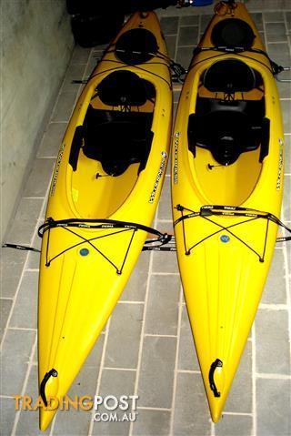 1 X Wilderness Systems (USA) PUNGO 120 Single Seat Sit-In Kayak