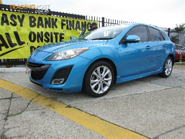2009 mazda 3 neo bl series 1 manual hatchback