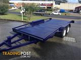 TILTING 2.9TON HEAVY DUTY CAR CARRIERS RAILS, RAMPS, WINCH POST INCLUDED