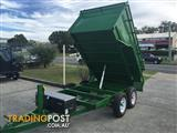 AUSTRALIAN MADE HYDRAULIC TIPPER TRAILERS