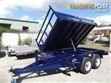 AUSTRALIAN MADE/BUILT TIPPER TRAILERS TANDEM TRAILER EXTRA HEAVY DUTY TIPPER TRAILERS