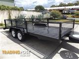 AUSTRALIAN BUILT CAGED CAR CARRIERS ALL SIZES BUY DIRECT FROM MANUFACTURER