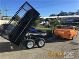 AUSTRALIAN MADE HYDRAULIC TIPPER TRAILERS ALL AUSTRALIAN BUILT! From $4990