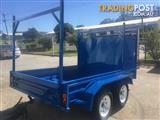 IN STOCK! 10x5 HALF BUILDER TRAILER MUTLI PURPOSE TRAILER WITH ROCKER SUSPENSION NEW TYRES & RIMS