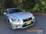 2012 LEXUS GS450h HYBRID LUXURY GWL10R 4D SEDAN