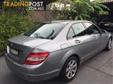 2009 MERCEDES-BENZ C220 CDI CLASSIC W204 4D SEDAN