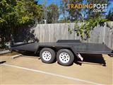 14 x 6'6 Semi flat Car trailer
