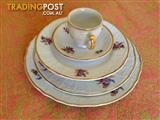 52 Piece Bernadotte Antique/Vintage Dinner Set