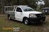 2008 TOYOTA HILUX WORKMATE TGN16R 08 UPGRADE DUAL CAB P/UP