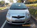 2011 TOYOTA YARIS YRS NCP91R 10 UPGRADE 5D HATCHBACK