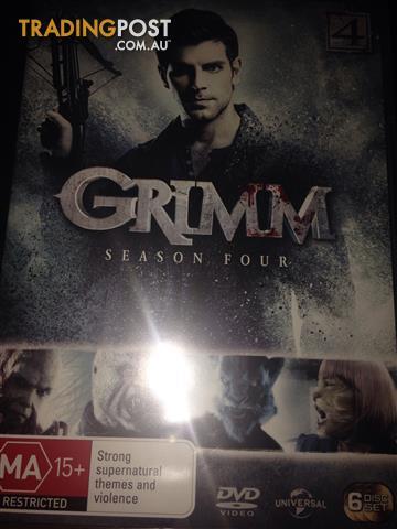 Grimm season four 6 disc TV series r4
