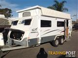 2008  JAYCO STERLING  17.55-4 OUTBACK POPTOP