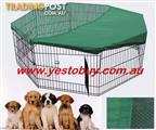 Pet Dog Playpen pen Cage Puppy Crate Enclosure Rabbit Fence