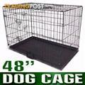 "48""Pet Dog Cat Puppy Rabbit Cage Crate Pen divider,cover,mat"
