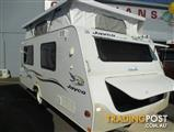 JAYCO DESTINY 15' POP TOP, Single Beds and Air Conditioning.