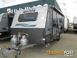"Montana "" Charm"" 18'6"" Semi Off Road Single Axle Tourer, Queen Bed, Ensuite, Cafe Seating...."