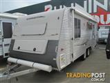 Coromal Lifestyle L 615, 2007 Model, 20 ' a Classic Touring Van for Grey Nomads