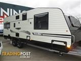 "Traveller 22'6"" Prodigy, Tandem Touring Caravan, Queen Bed, Zoned Living, Rear Cafe Lounge, Ensuite"