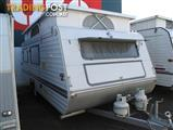 Regent Monarch Crusader Pop Top, 17'6 Single Axle Tourer