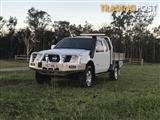 2009 NISSAN NAVARA ST-X (4x4) D40 KING C/CHAS