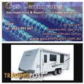 Gas Certificates and Repairs for Caravans