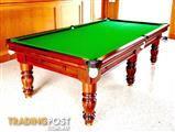 Aust Made -Refurbished slate tables-6,7 ,8 ,9 &10FT New Felt ,New