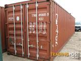 Used 40ft GP Cargo Worthy Shipping Container for Sale (Ex. Brisbane)