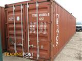 Used 40ft GP Cargo Worthy Shipping Container for Sale (Ex. Sydney)