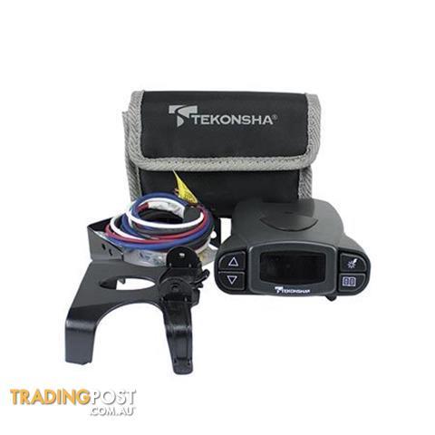 TEKONSHA Prodigy P3 12V Brake Control Unit with Installation Full Wiring Kit