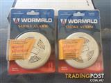 Pair of Wormald Smoke Alarms