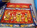 Antique Chinese wall banner