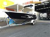 HORIZON 438 STRYKER SIDE CON DLX with YAMAHA F60LB 4 STROKE Motor.