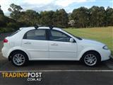 2008 HOLDEN VIVA JF MY09 5D HATCHBACK