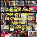 Garage Sale -Saturday 21st 8am-12 - METFORD 2323