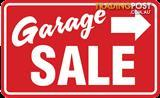 Garage Sale Moving