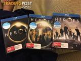 Seasons 1-3 Heroes on Blu Ray