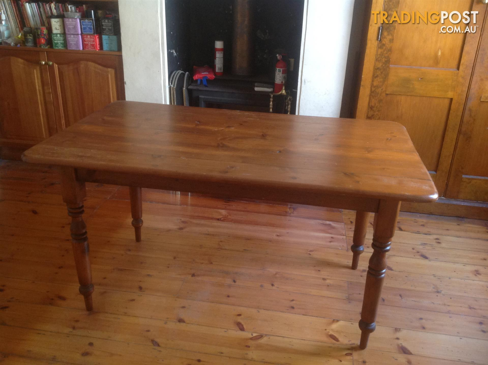Baltic pine table for sale in Exeter SA | Baltic pine table