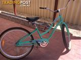 Green retro ladies bicycle - BRAND NEW