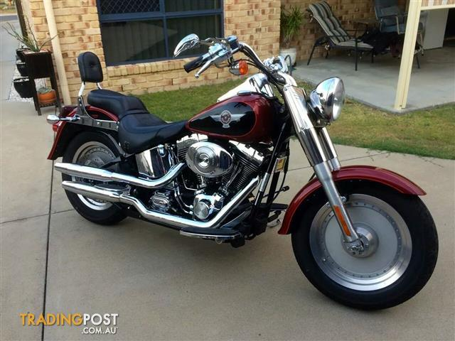 2006 HARLEY-DAVIDSON FLSTF FAT BOY 1600CC MY07 CRUISER